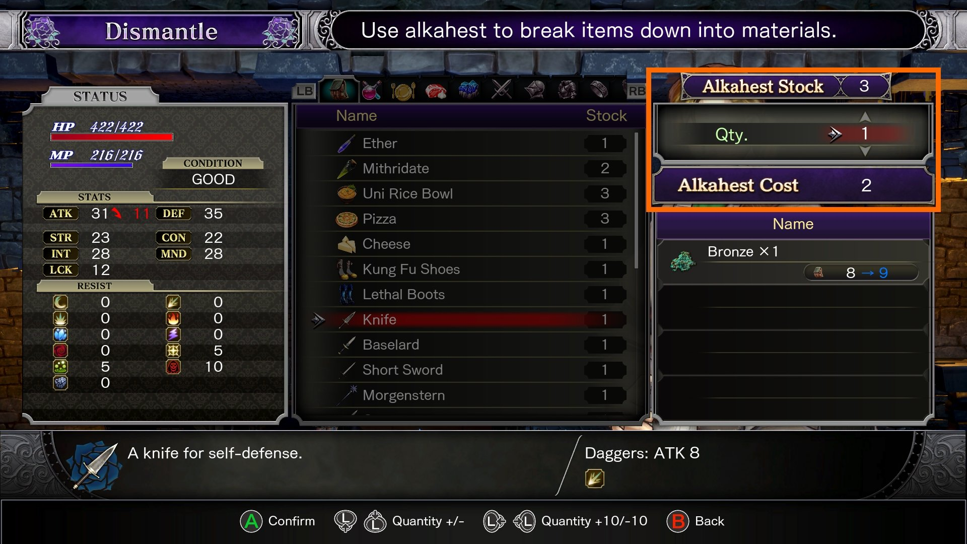 Where to find Alkahest Bloodstained Ritual of the Night