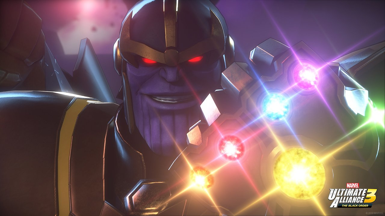 Character roster for Marvel Ultimate Alliance 3 the black order