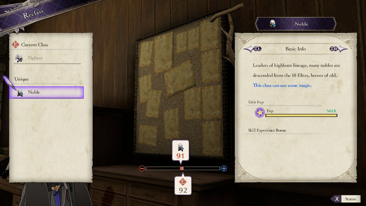 All Class Mastery bonuses in Fire Emblem: Three Houses