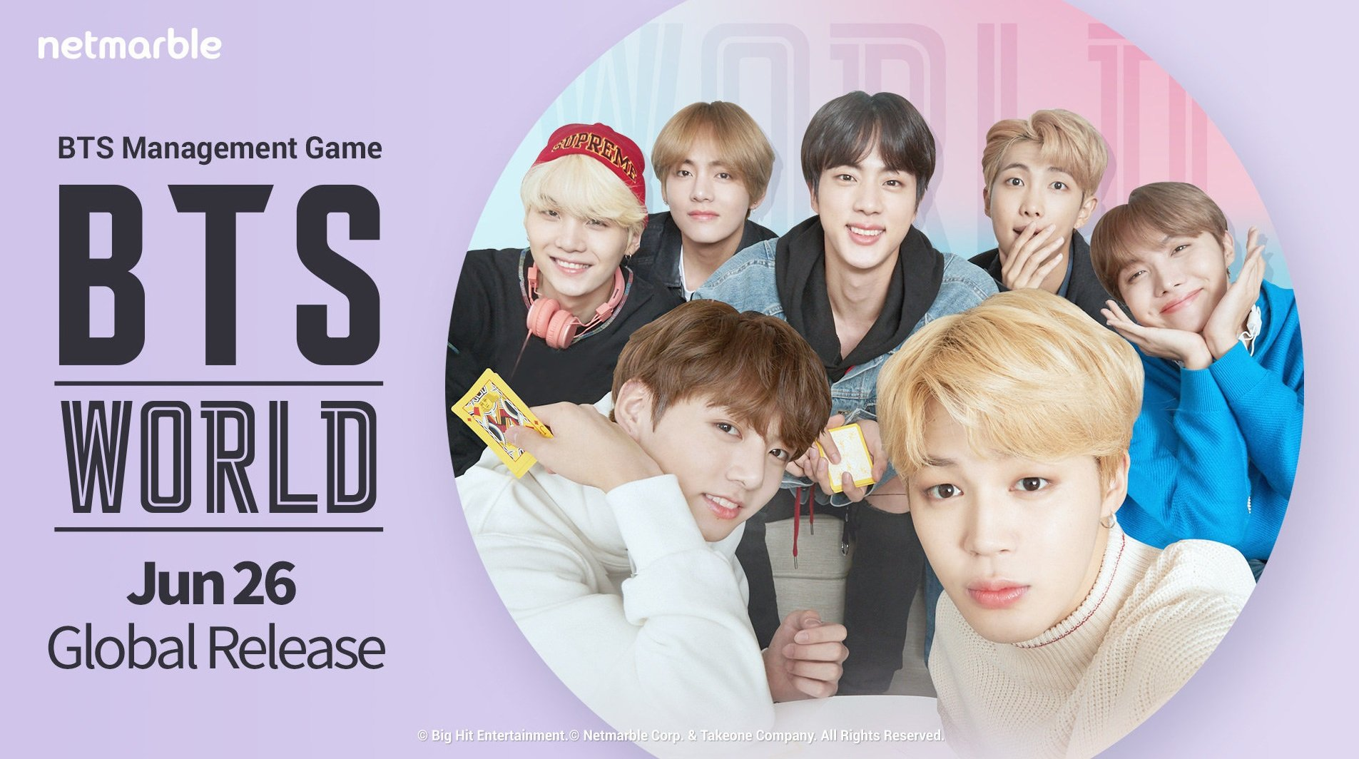 In BTS World, any photo card you unlock can be used as your profile picture.