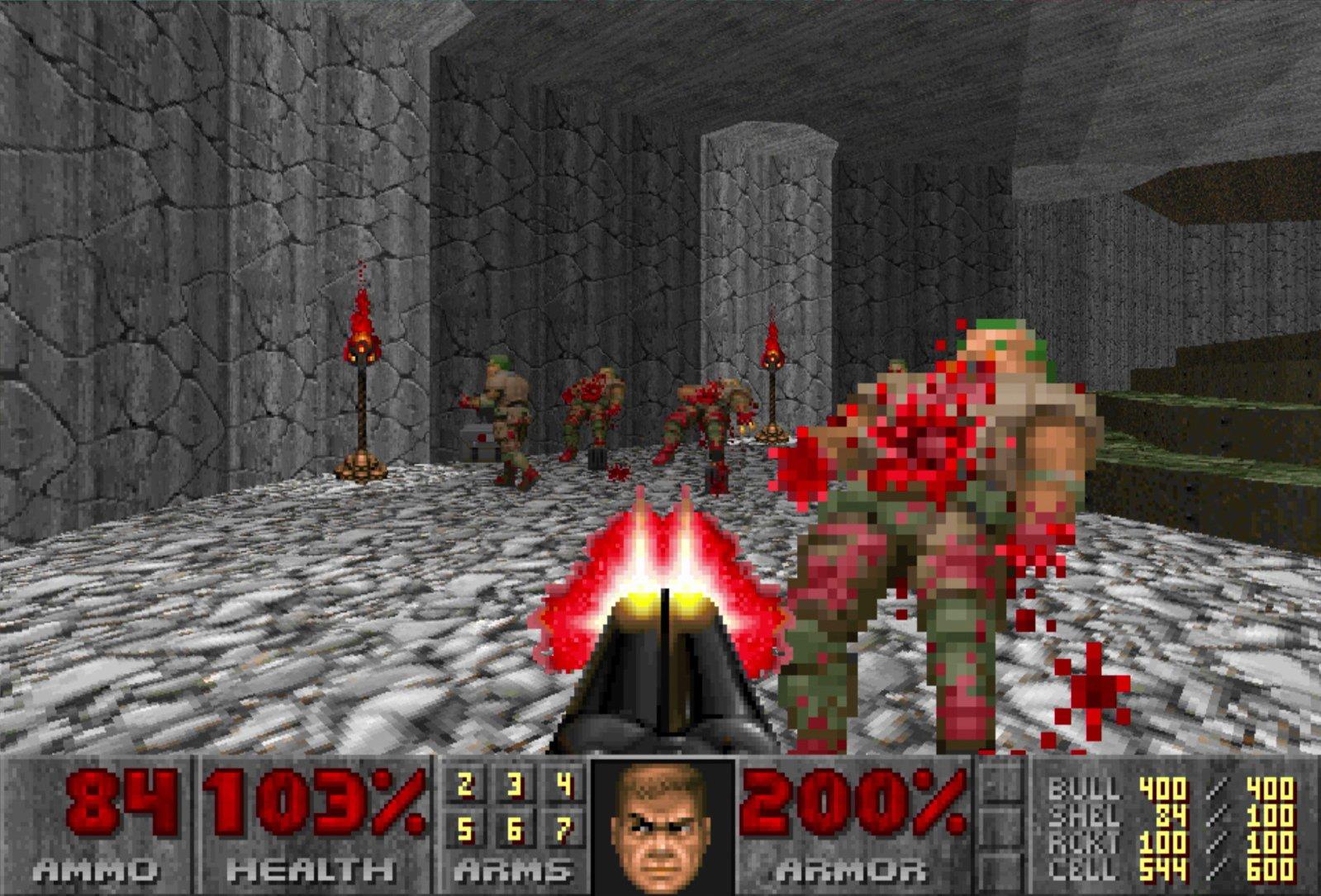 Doom Doom 2 and Doom 3 eshop nintendo switch leak