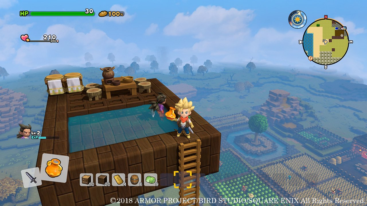 Dragon Quest Builders 2 all set recipes