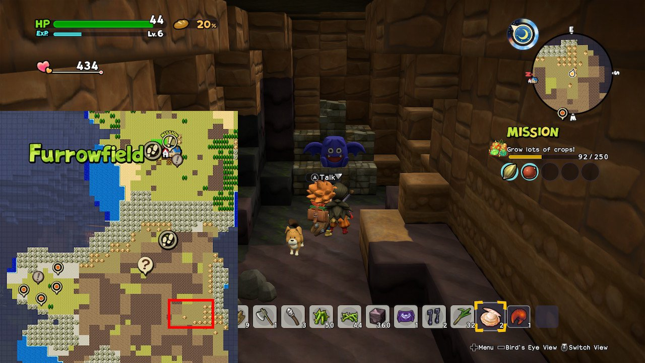 Dracky Totem pieces locations Dragon Quest Builders 2
