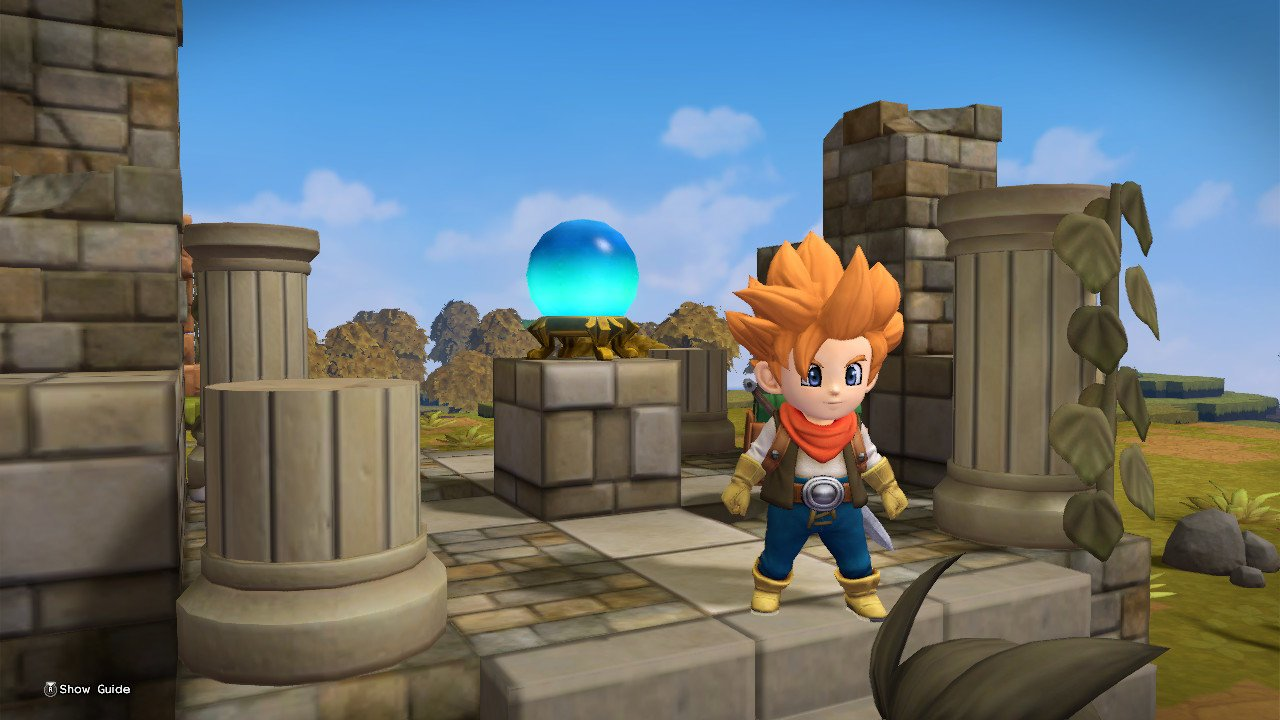 Dragon Quest Builders 2 Room Recipes museums