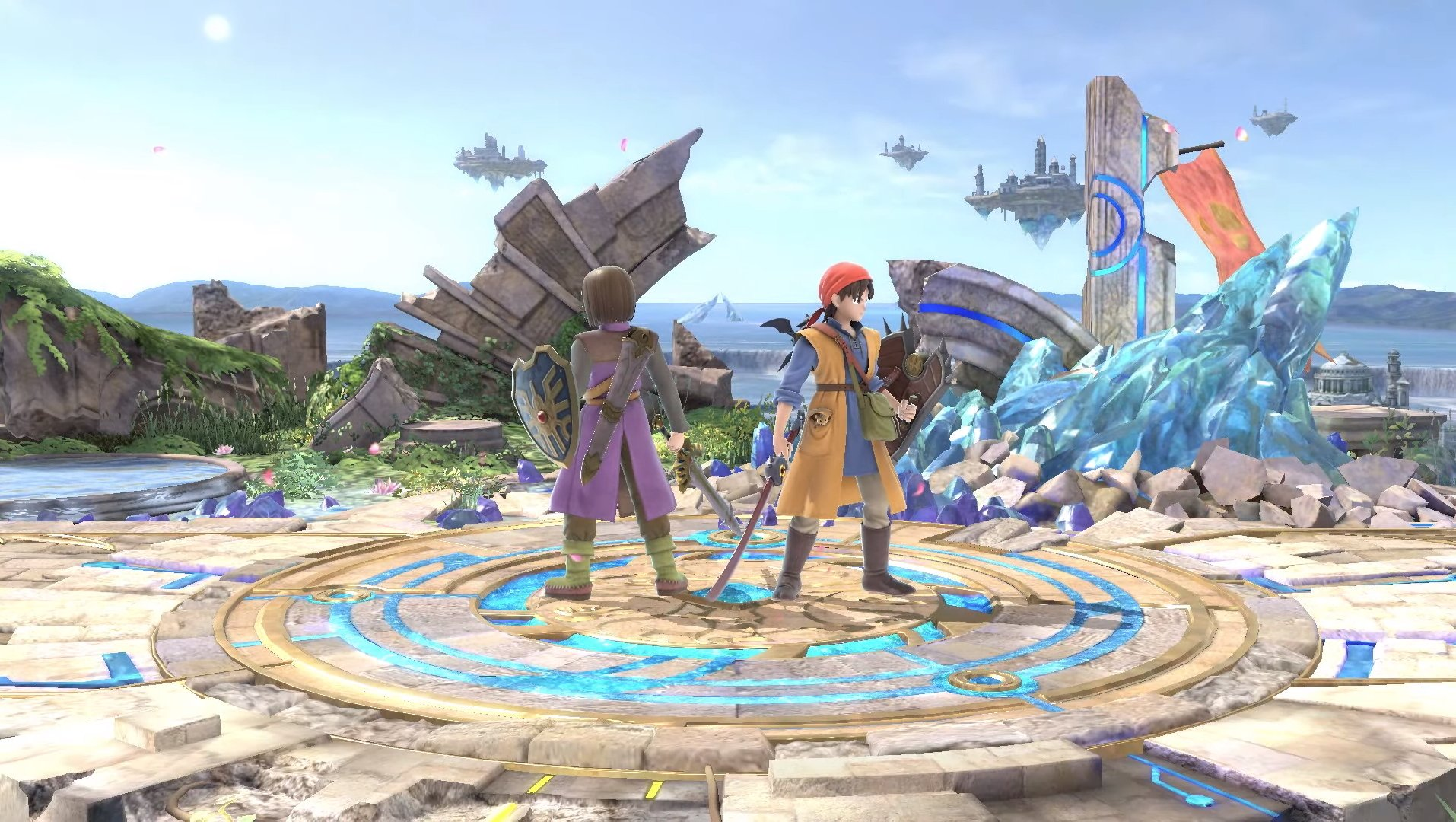 Dragon Quest Hero Moveset in Smash Ultimate
