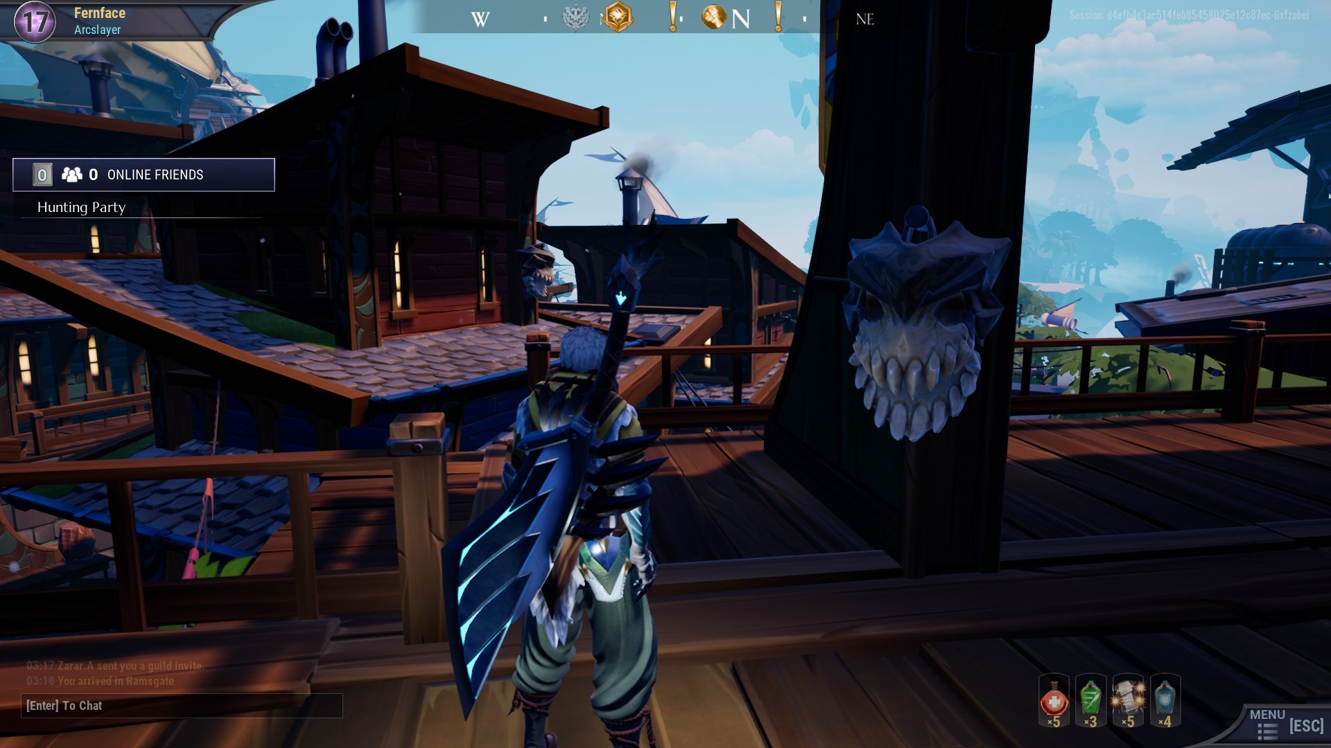 Dread Skull 17 - All daily dread skull locations in Dauntless