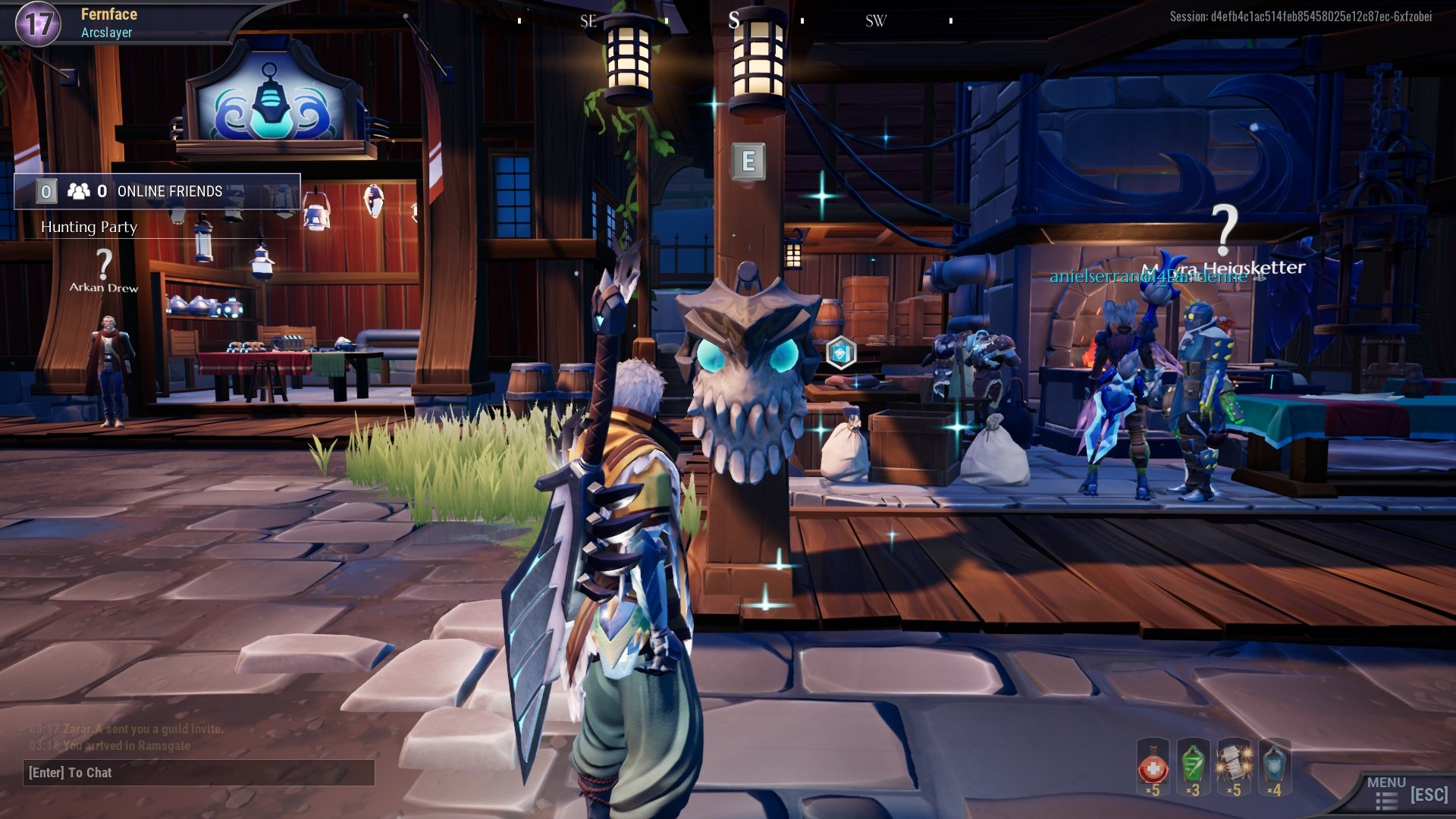 Dread Skull 5 - All daily dread skull locations in Dauntless