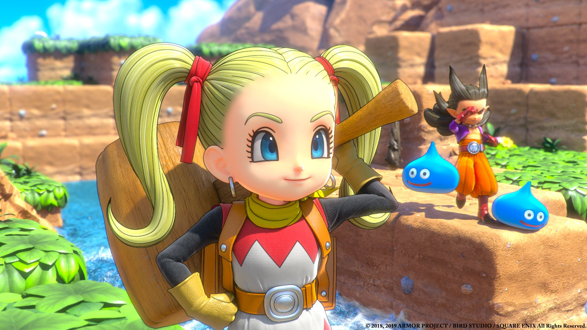 How to unlock Fast Travel in Dragon Quest Builders 2.