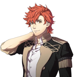 Fire Emblem Three Houses characters Sylvain