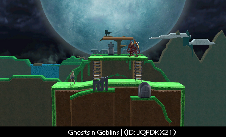 Ghosts 'n' Goblins Smash Ultimate Best Custom Stages