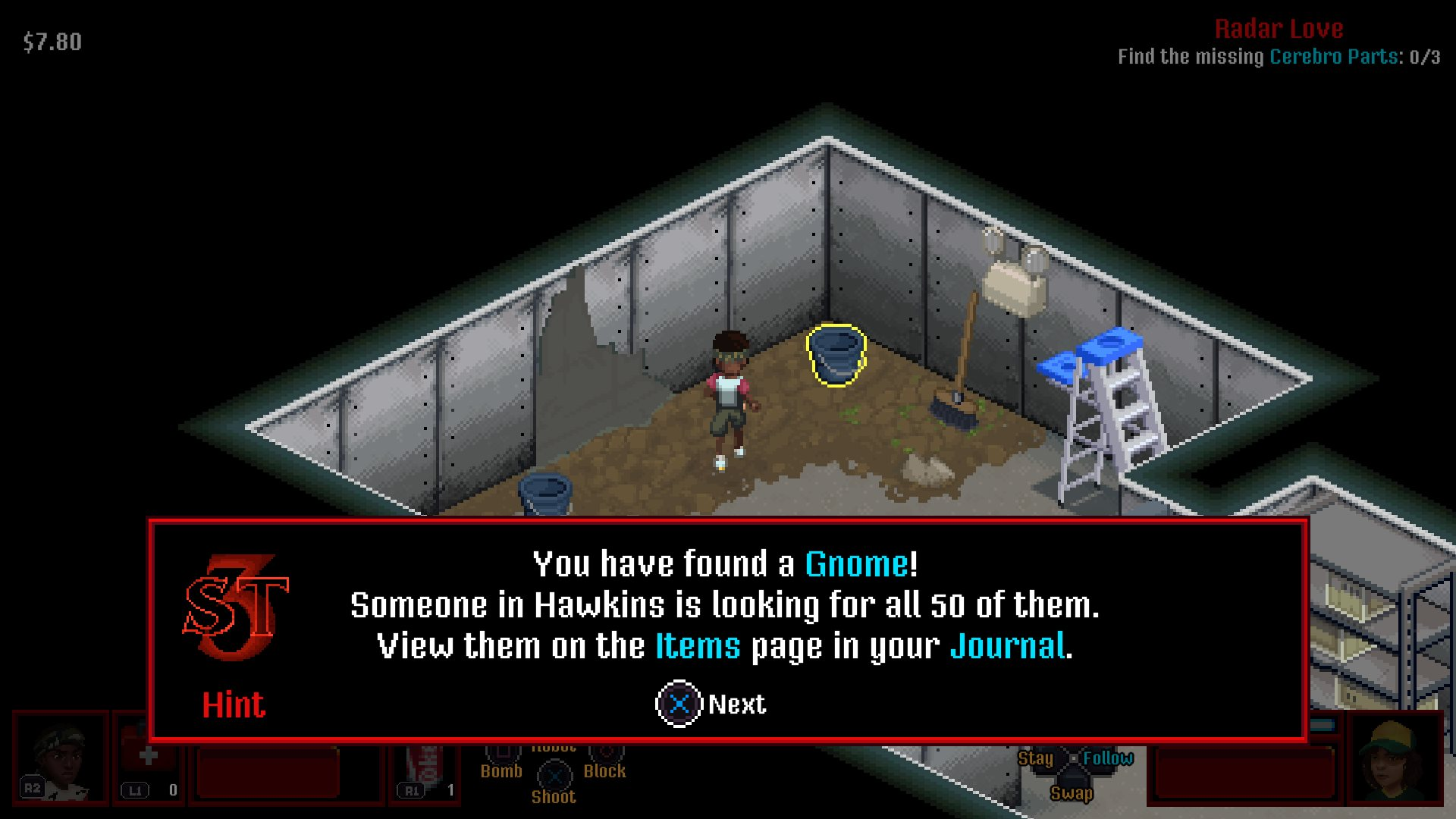 Gnome #9 Where to find gnomes Stranger Things 3 The Game