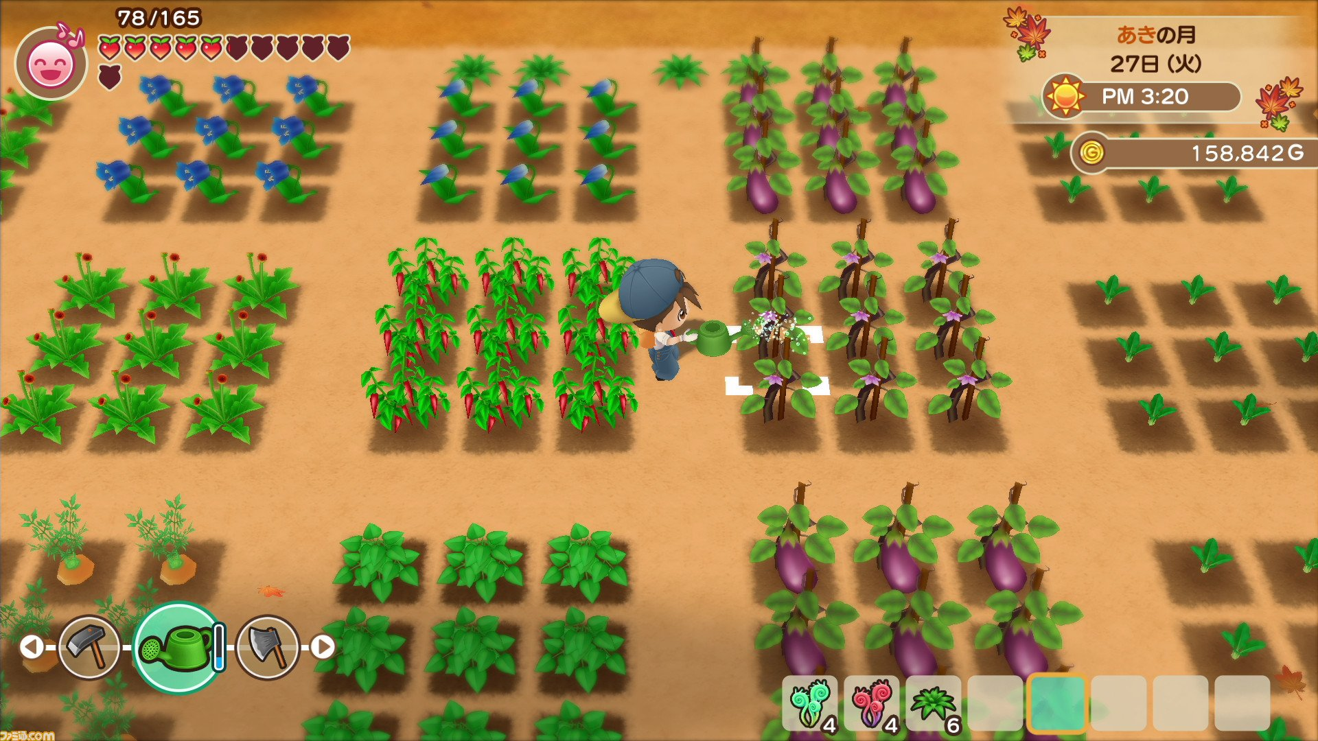 Harvest Moon Switch remaster