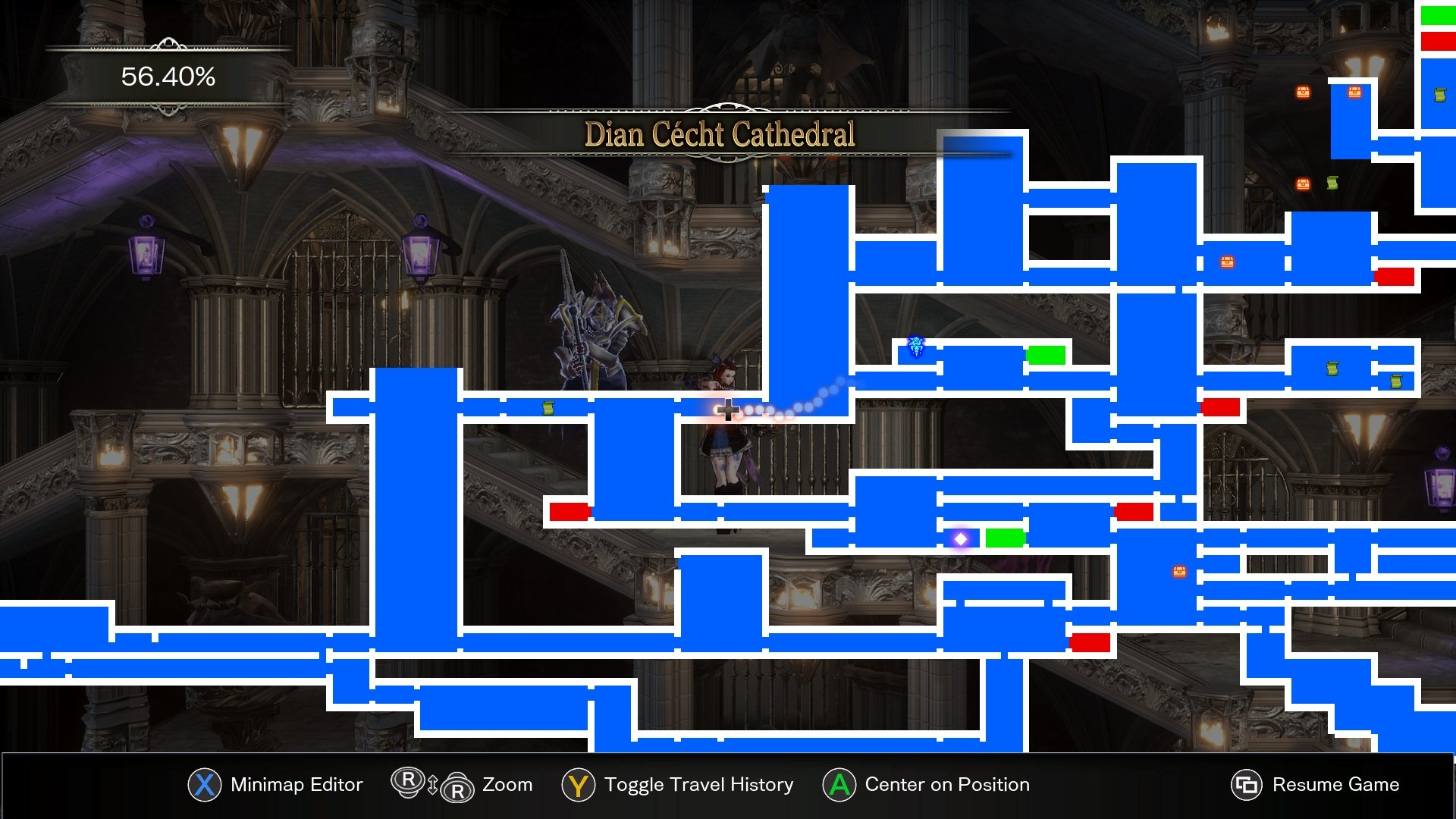 How to get the Rhava Bural in Bloodstained Ritual of the Night - the map location