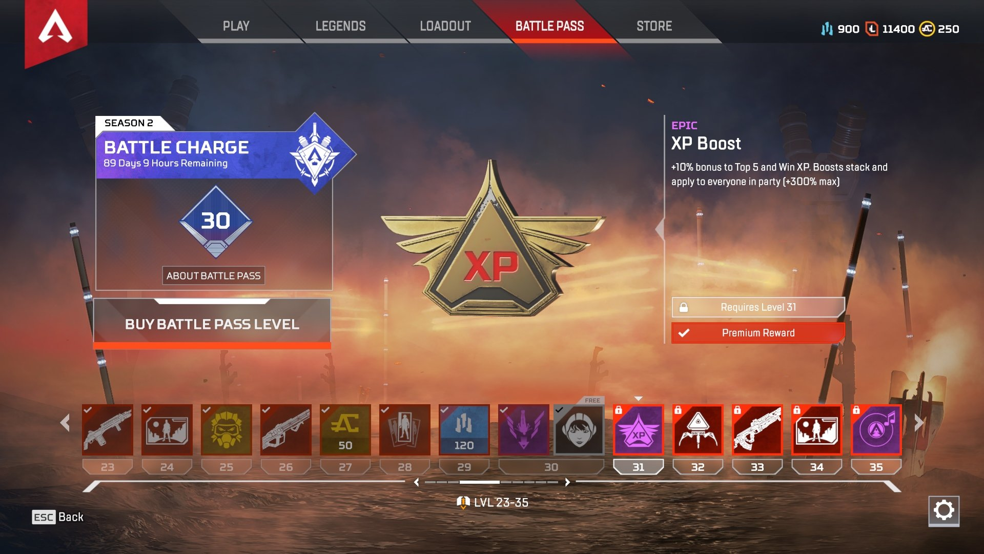 How to level up Season 2 Battle Pass quickly in Apex Legends