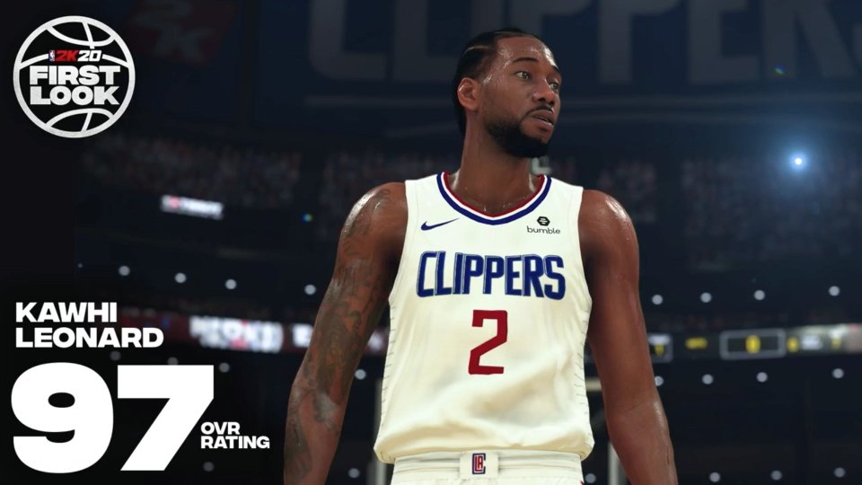 Biggest winners and loser NBA 2K20 ratings - Kawhi Leonard