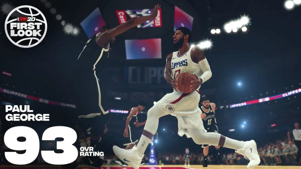 Biggest winners and loser NBA 2K20 ratings - Paul George