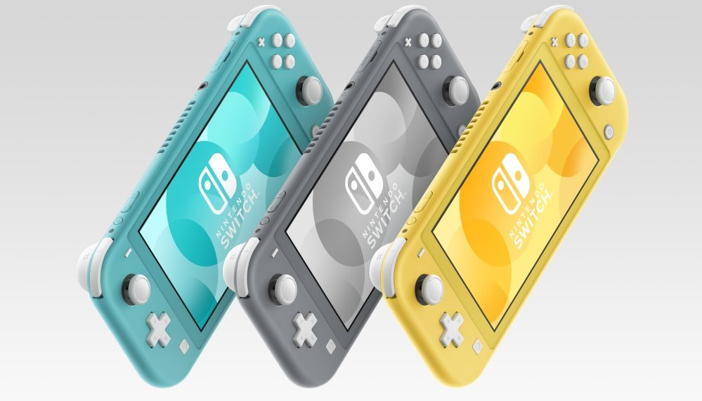 Nintendo Switch vs Switch Lite comparison