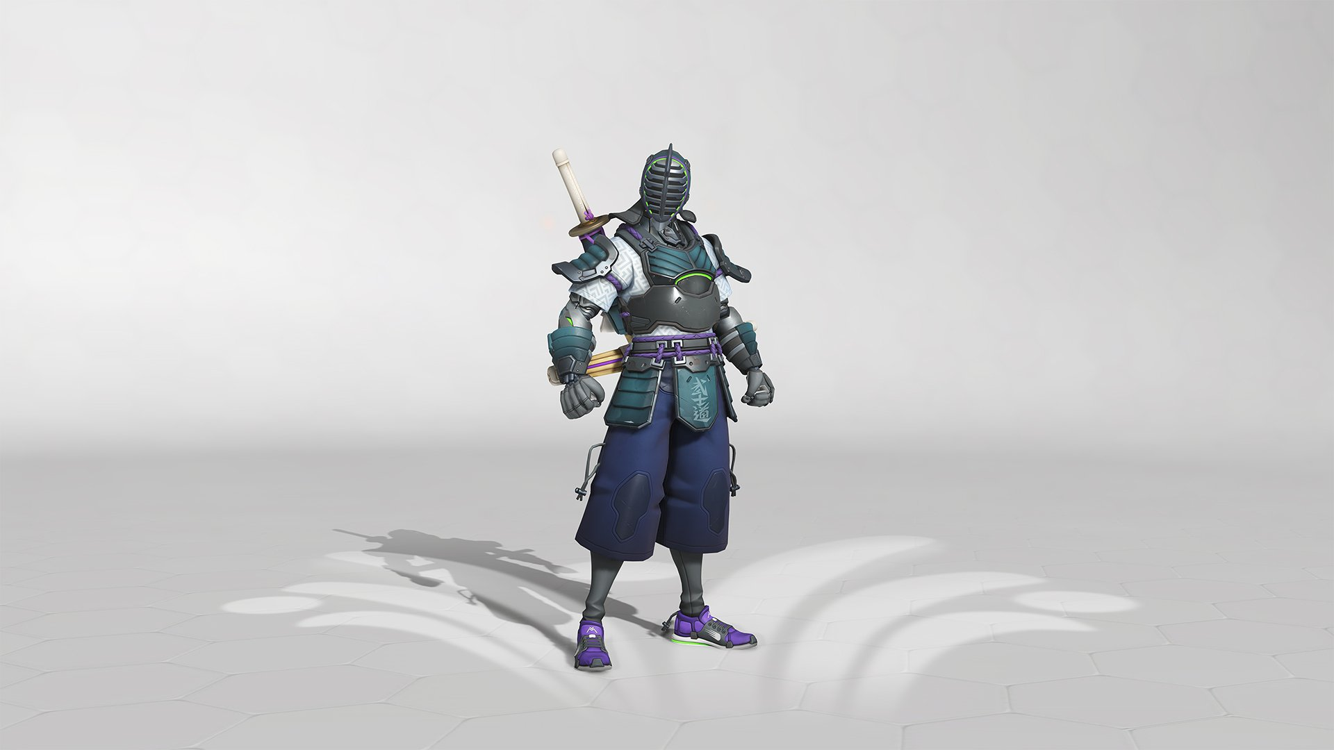 Overwatch summer Games 2019 genji Skin