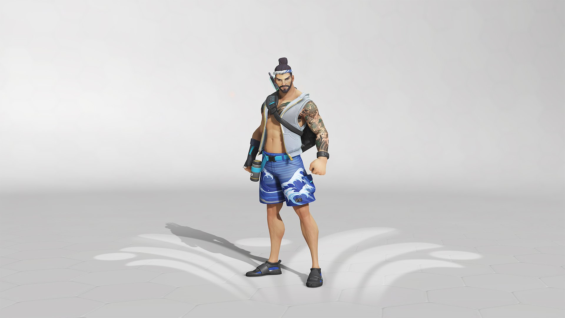 Overwatch summer Games 2019 Hanzo Skin
