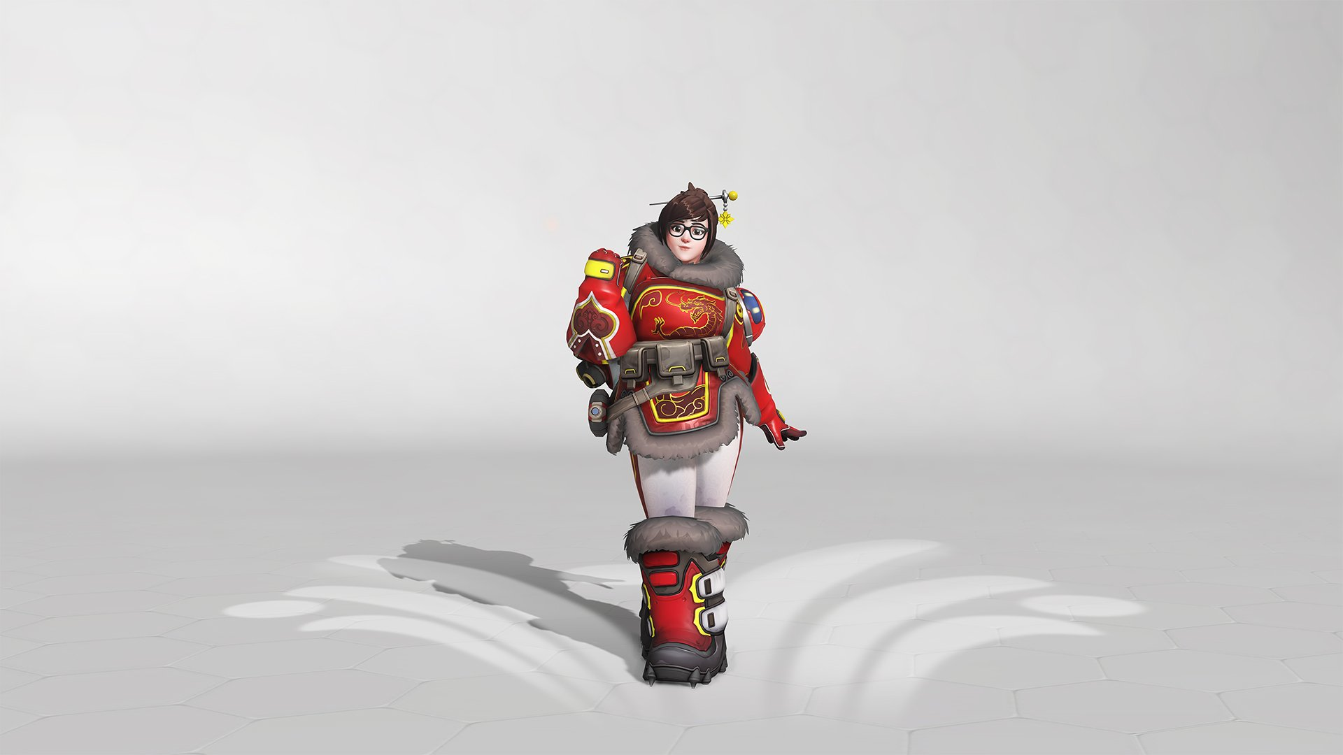 Overwatch summer Games 2019 Mei Skin