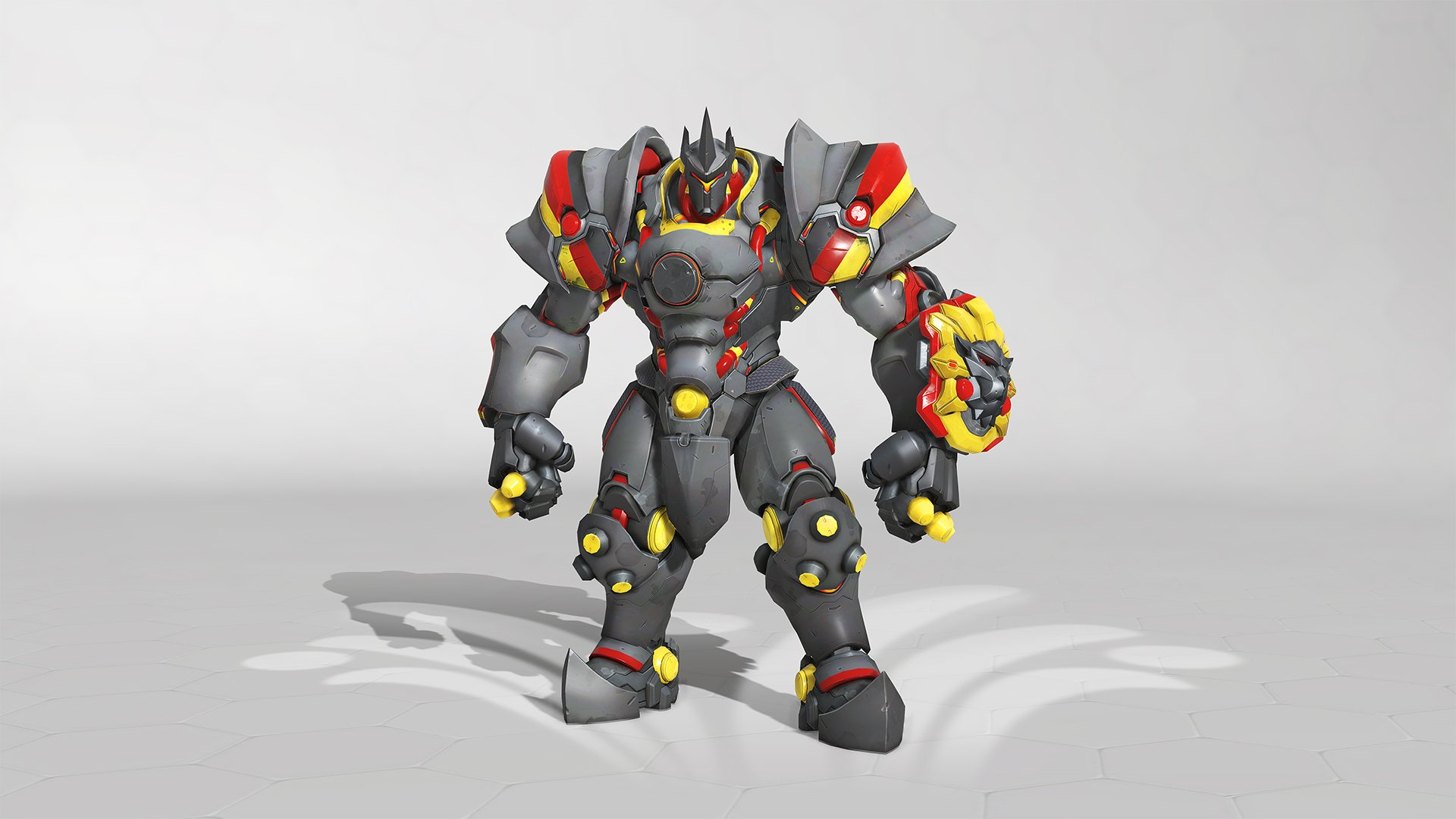 Overwatch summer Games 2019 Reinhardt Skin