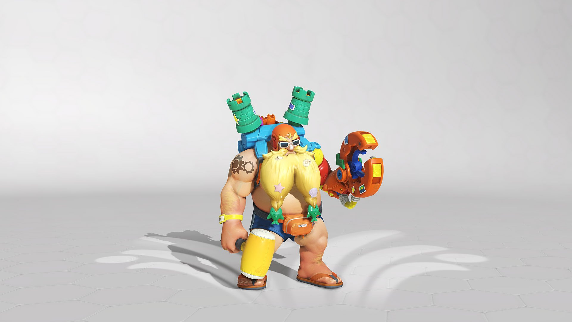 Overwatch summer Games 2019 torbjorn Skin