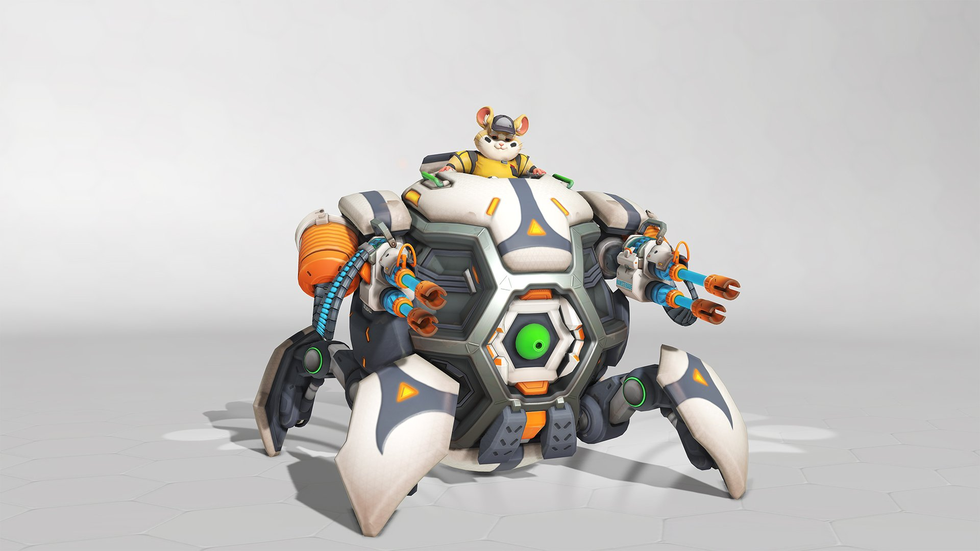 Overwatch summer Games 2019 Wrecking Ball Skin