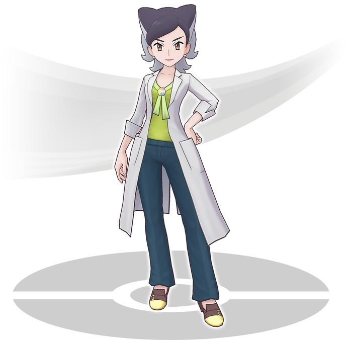 register pokemon masters Professor Bellis