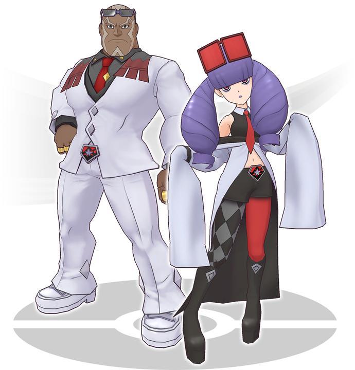 Sawyer and Rachel pokemon masters register