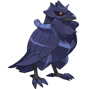 Pokemon Sword and Shield Corviknight