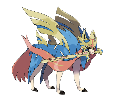 Pokemon Sword and Shield Zacian
