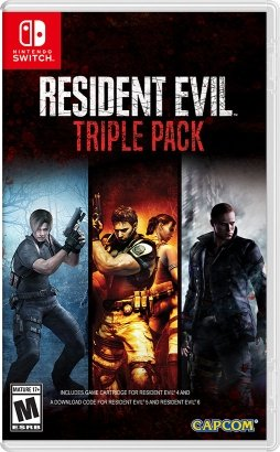 Resident Evil 5 and 6 Switch release date triple pack