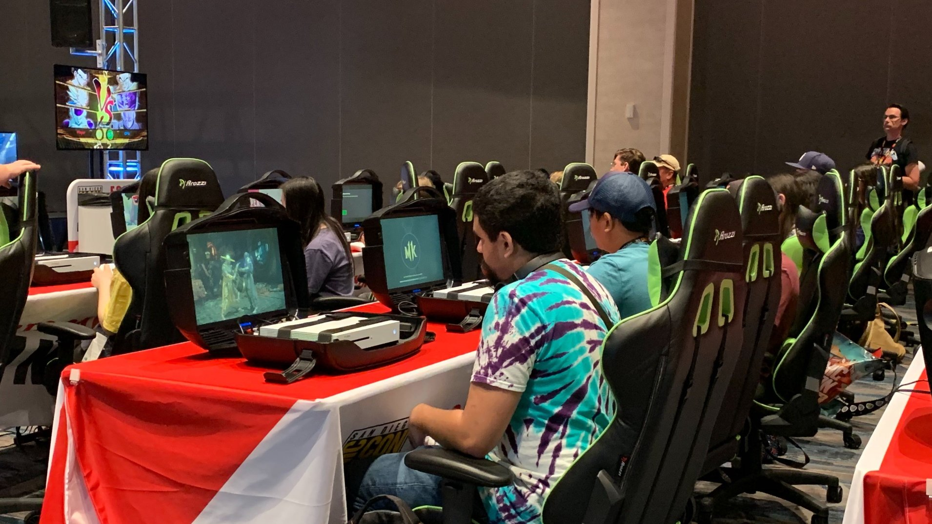 SDCC19 esports lounge raised money for charity 750,000 viewers