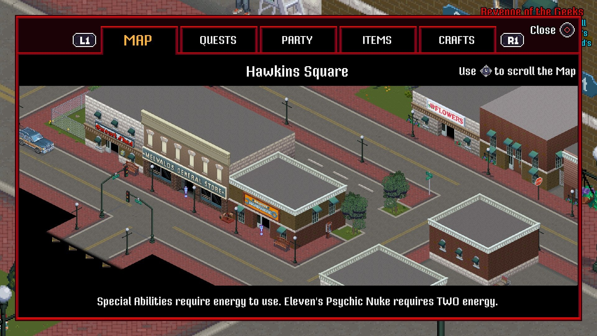 Can you Fast Travel in Stranger Things 3 The Game