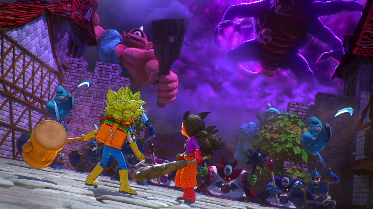 How to unequip Cursed Item in Dragon Quest Builders 2.