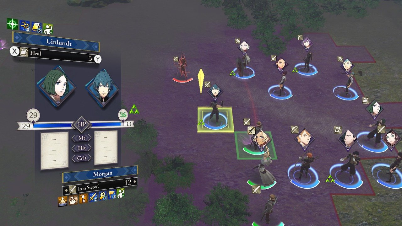 You can use characters like Linhardt to heal other members of your battalion in Fire Emblem: Three Houses.