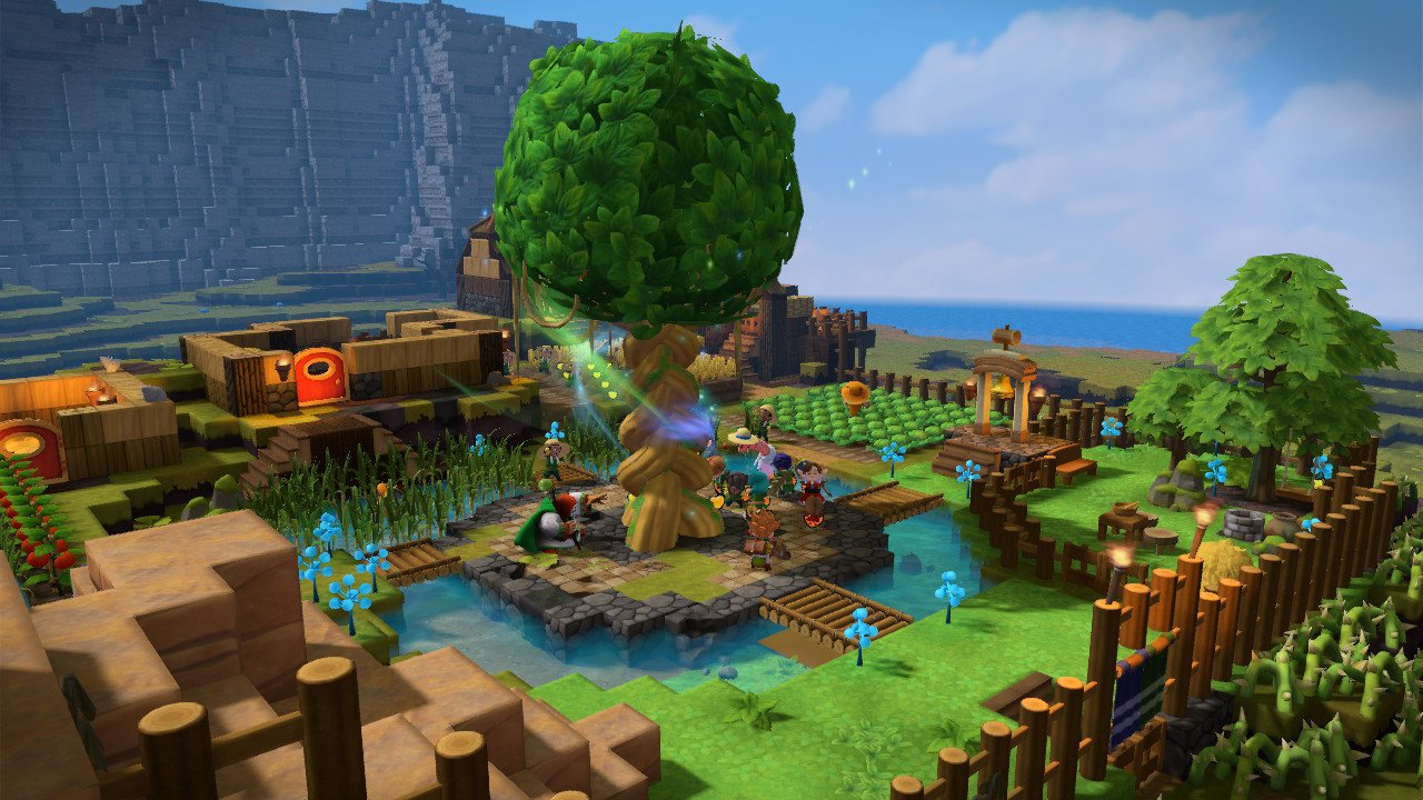 How to get Oak and Leaves in Dragon Quest Builders 2.