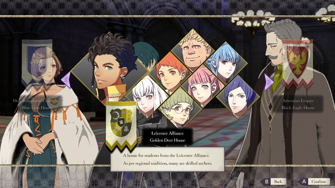 Who to pick in Fire Emblem: Three Houses