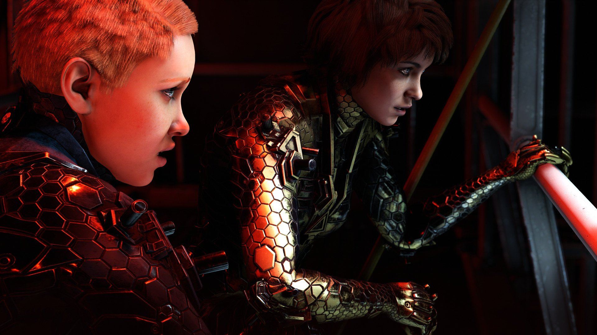 Can you play as B. J. Blazkowicz in Wolfenstein: Youngblood?
