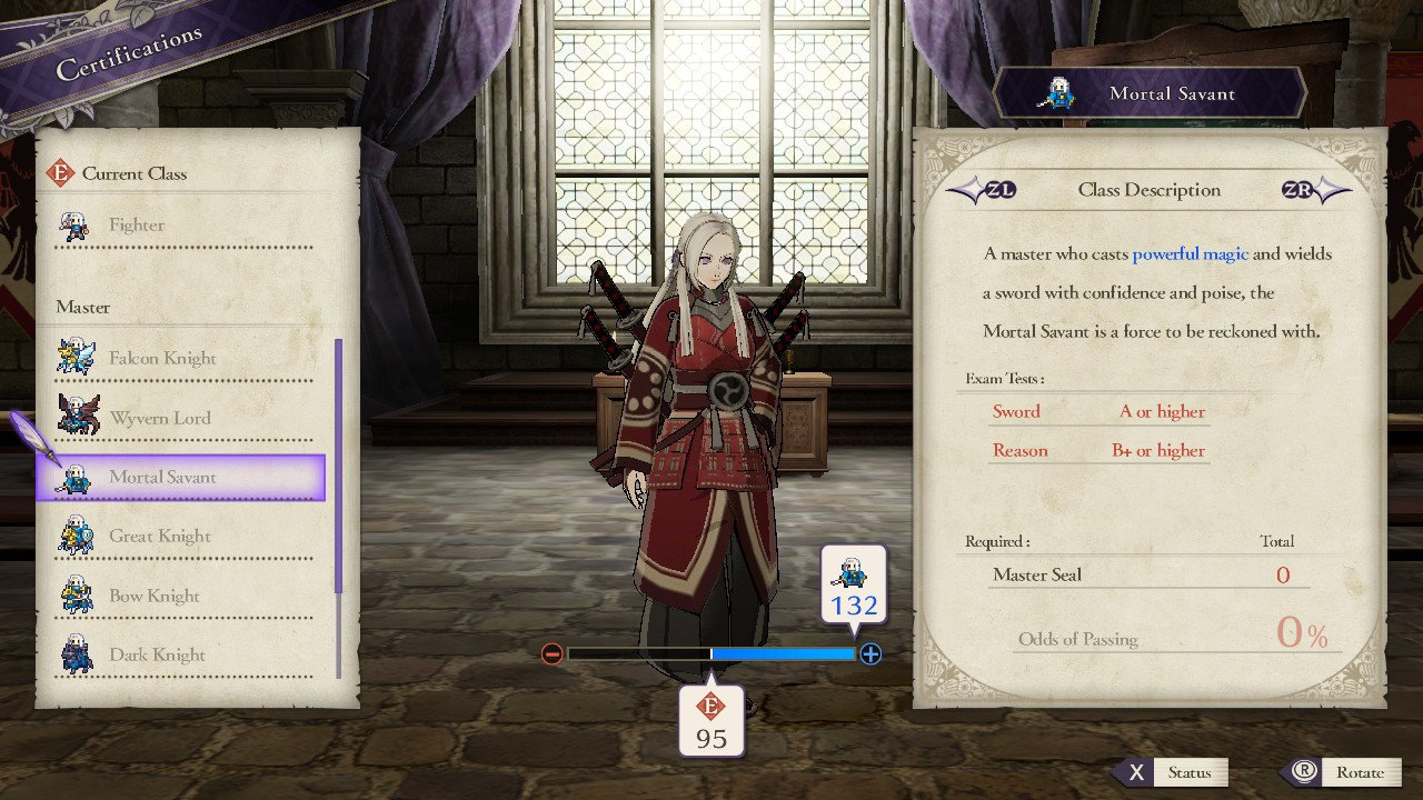 Master Class Abilities in Fire Emblem: Three Houses