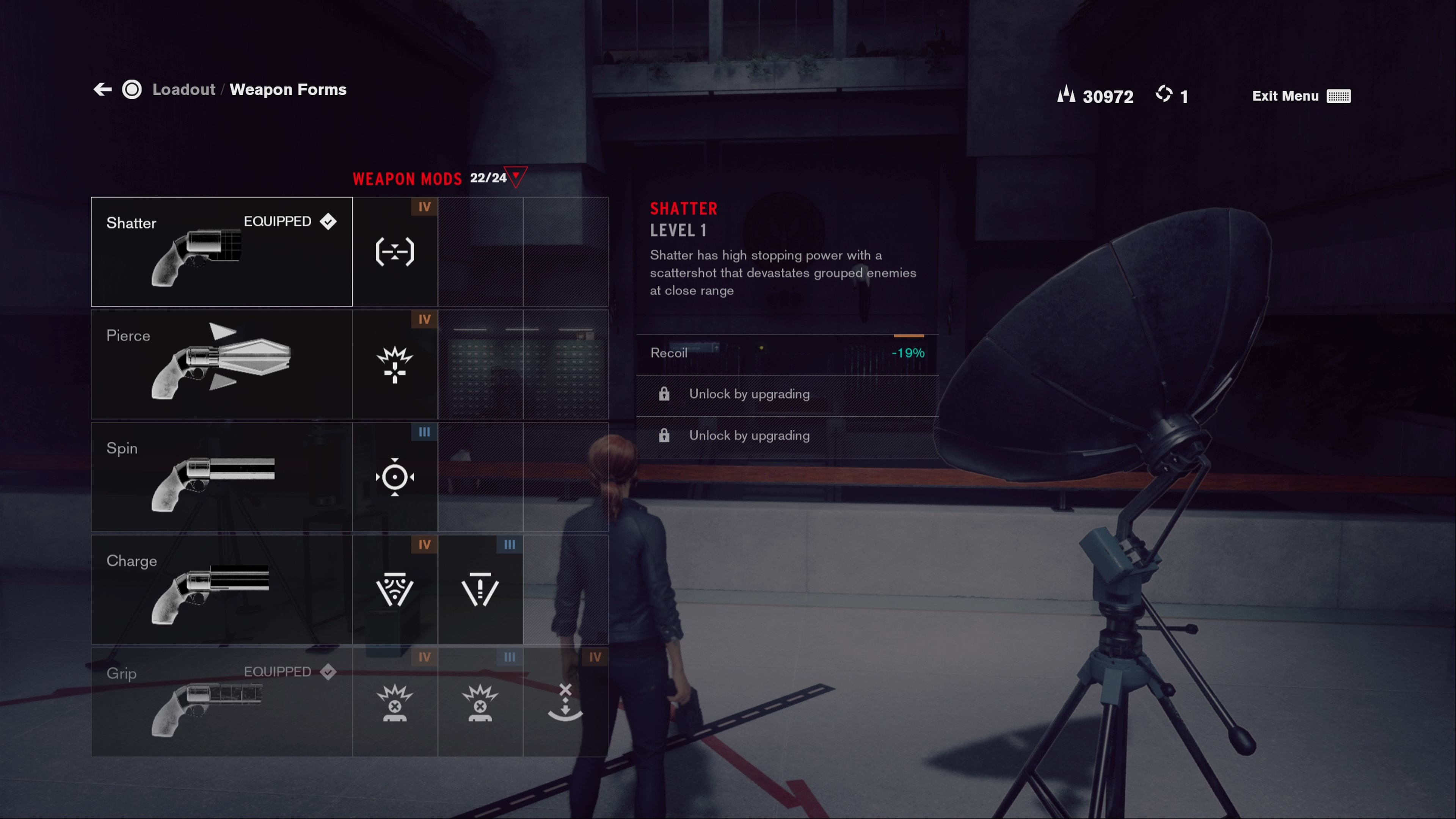 All Service Weapon Forms in Control