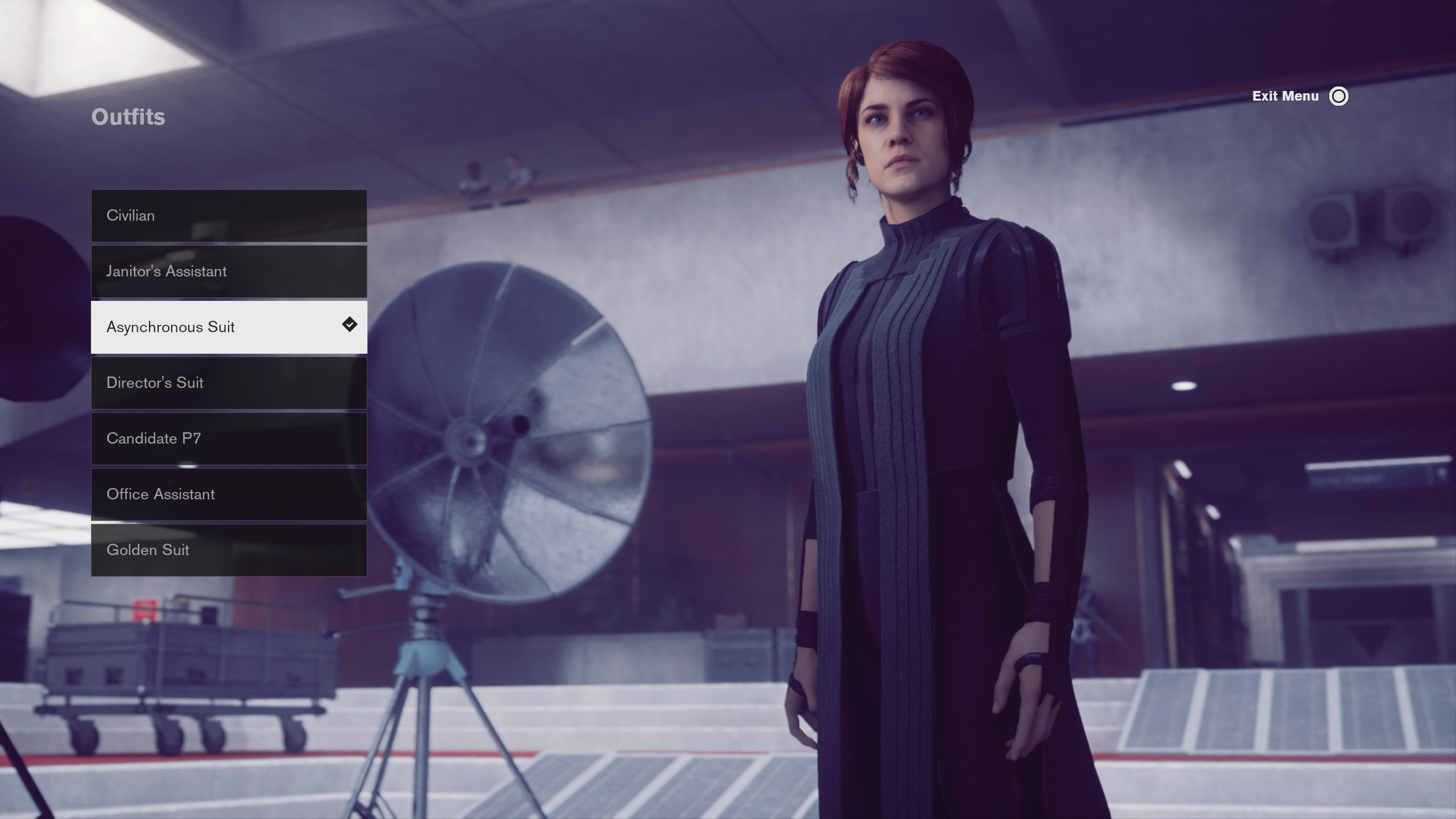 Asynchronous suit - all outfits in control