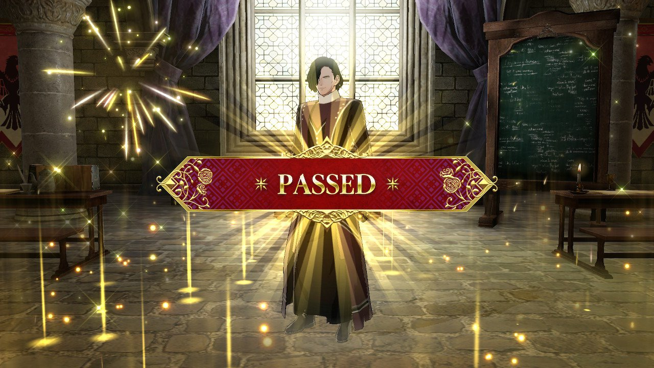Class certification requirements in Fire Emblem: Three Houses