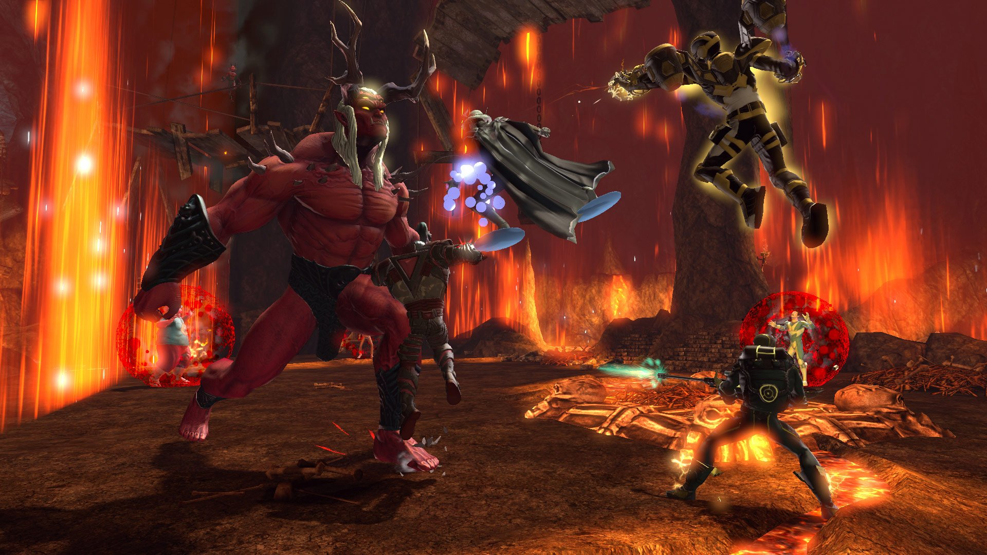 Classes, Powers and Weapons in DC Universe Online