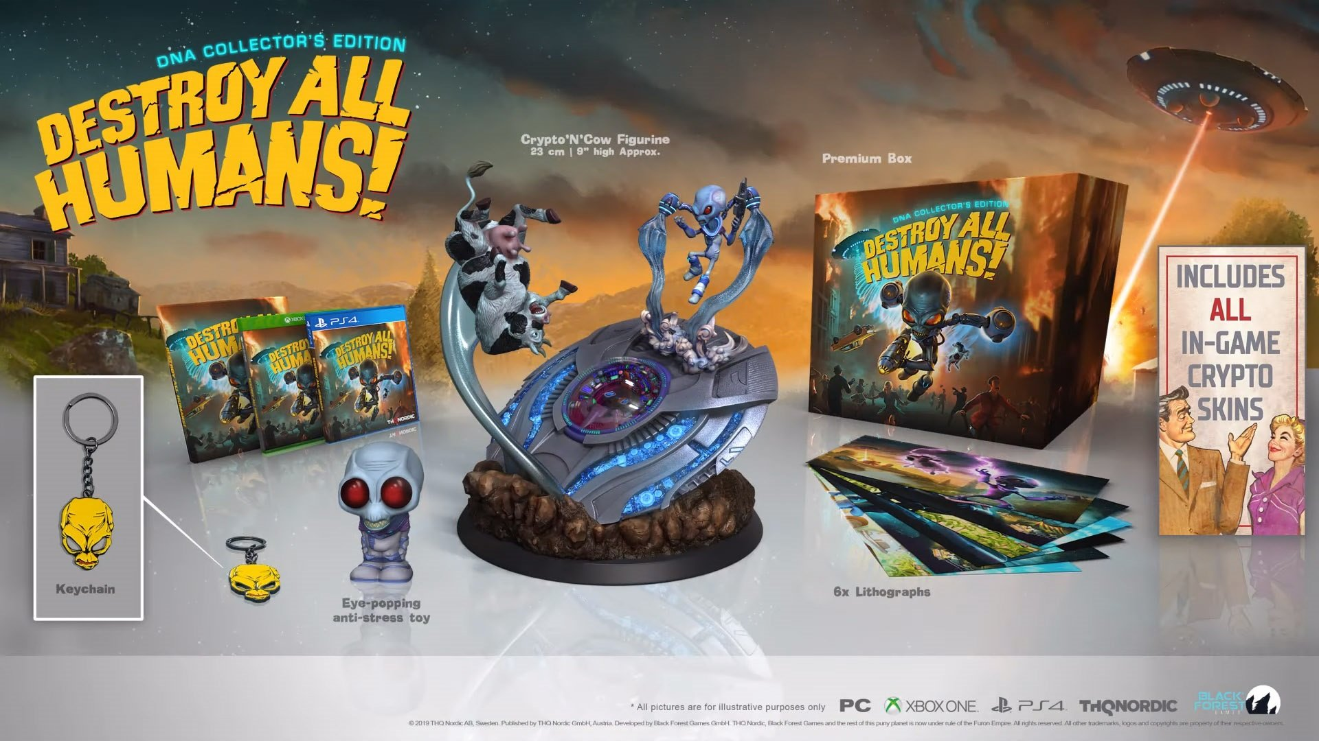 Destroy All Humans getting two special editions