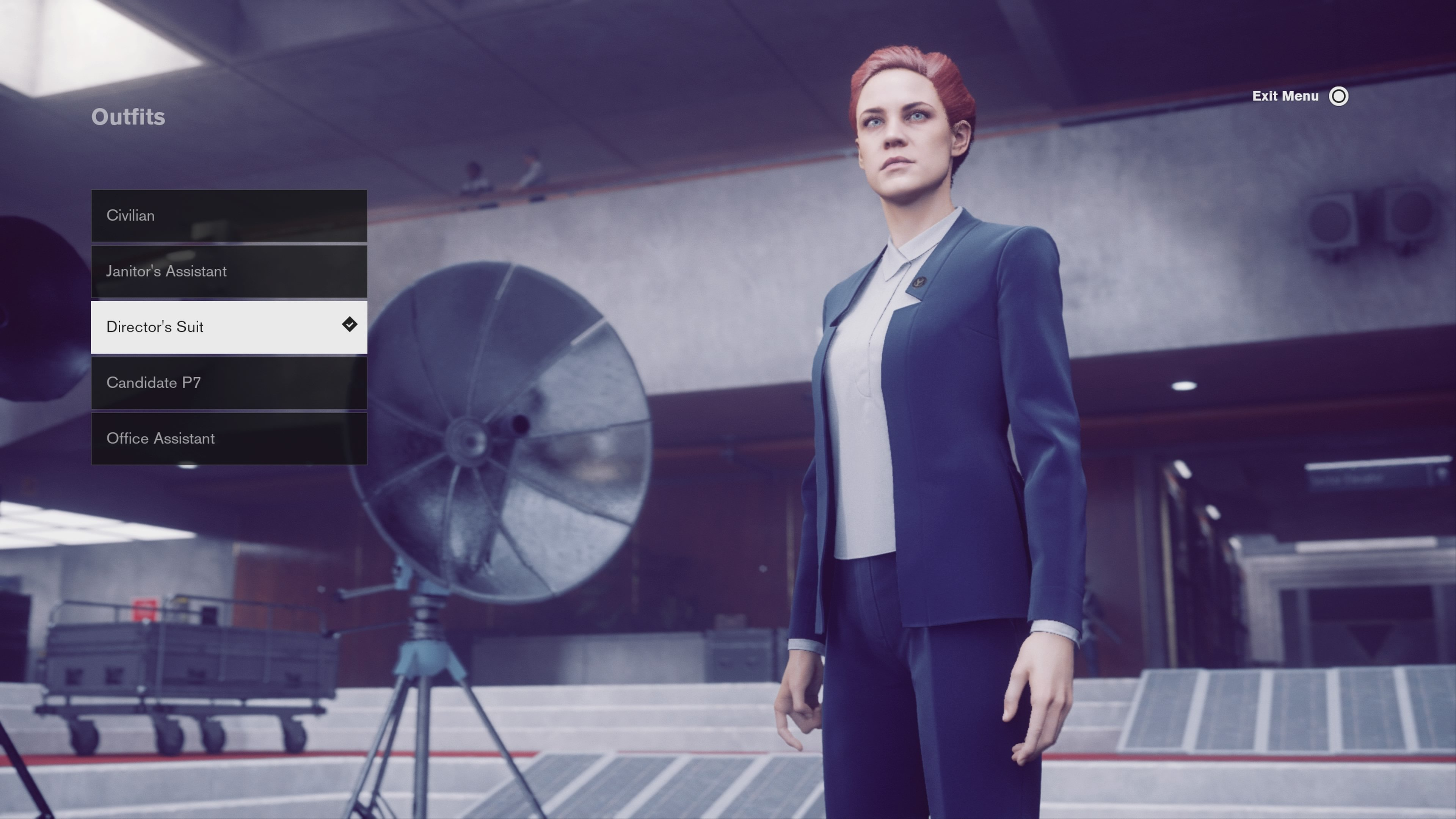 Director's Suit Outfit in Control - how to unlock outfits