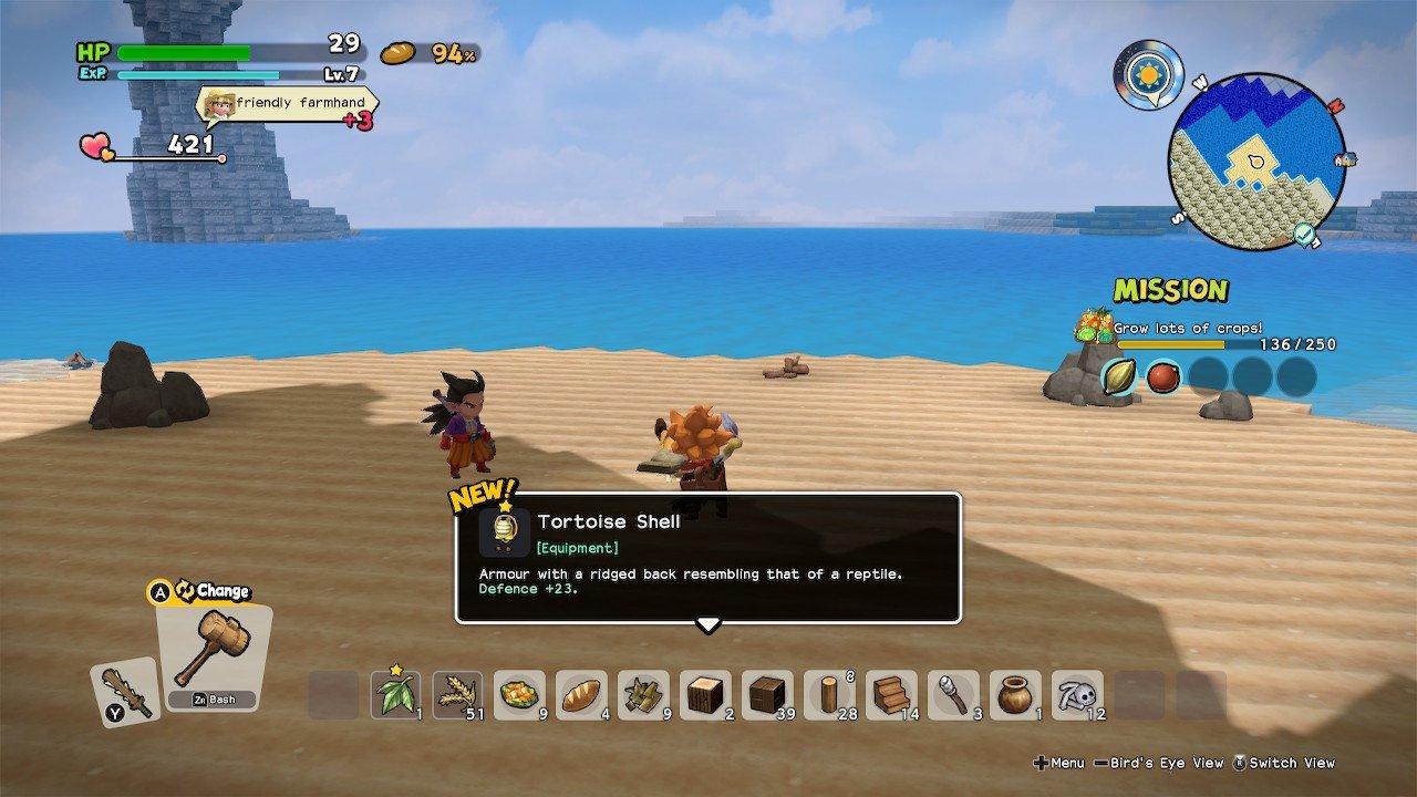 Dragon Quest Builders 2 monstruos súper fuertes Crabber-Dabber-Doo
