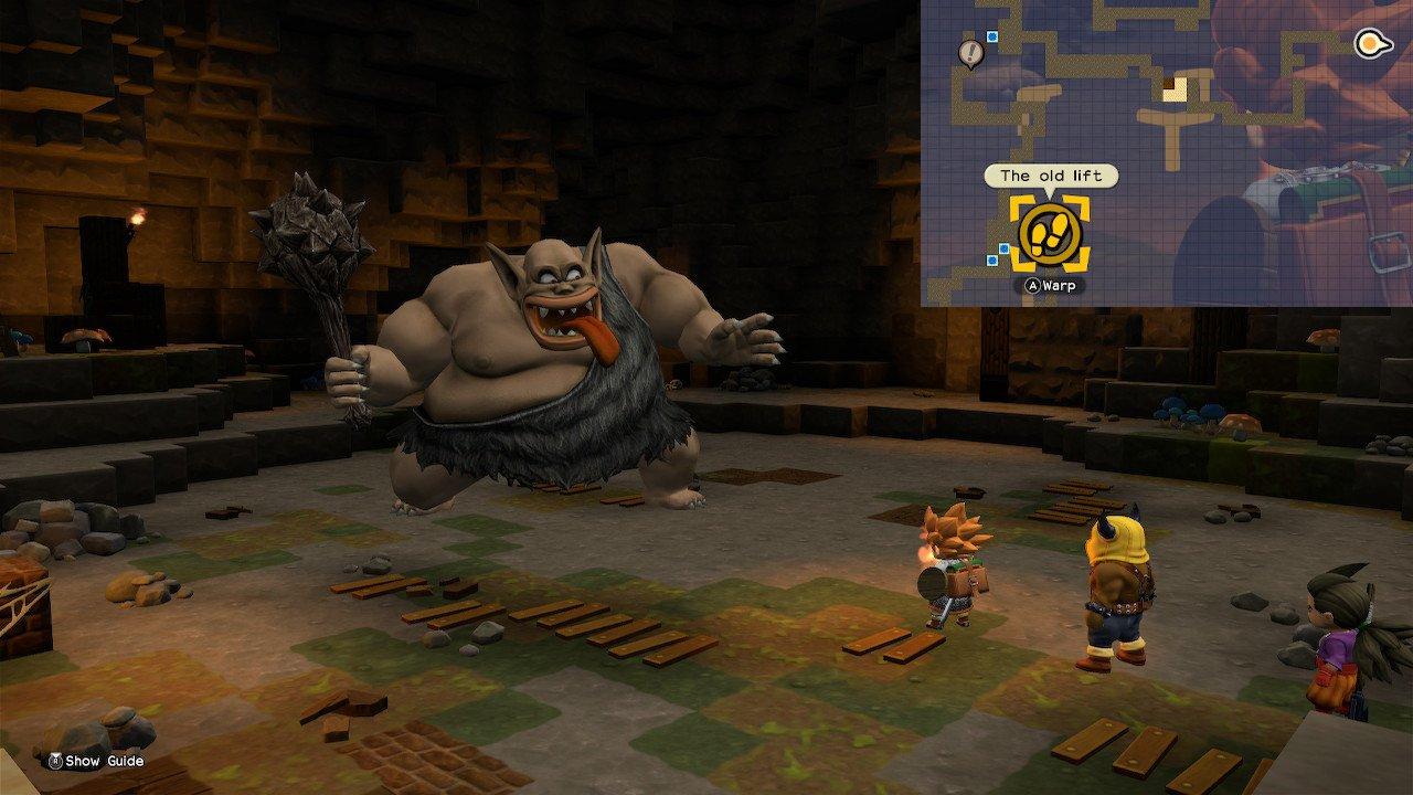 Dragon Quest Builders 2 monstruos súper fuertes Khrumbul-Dun