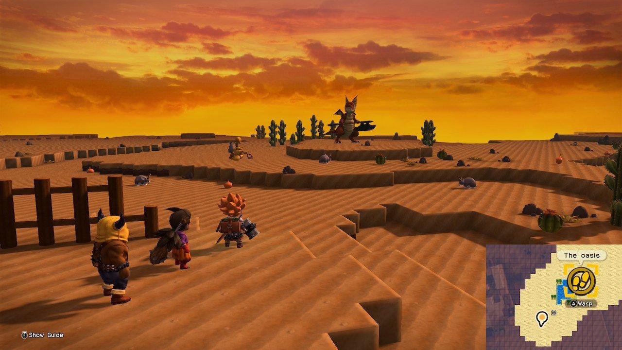 Dragon Quest Builders 2 super-strong monsters Khrumbul-Dun