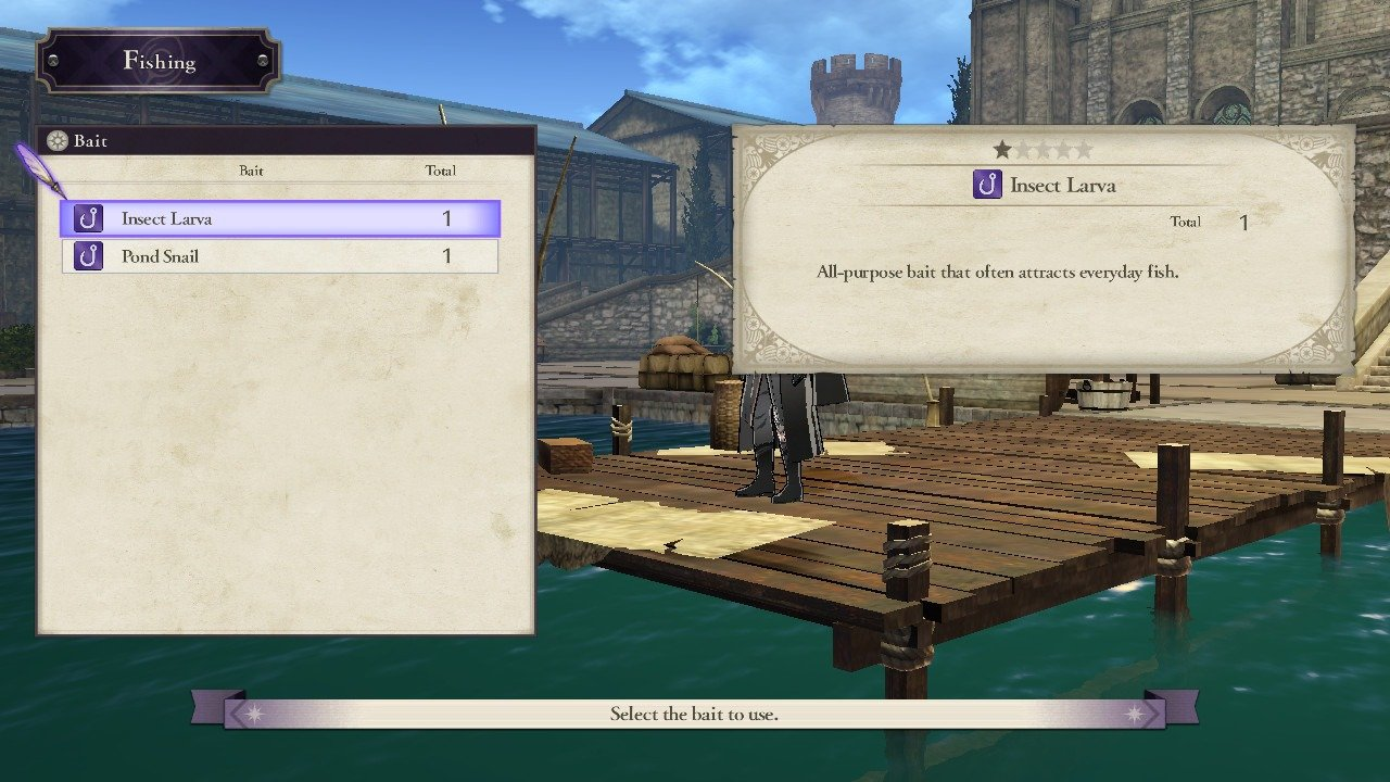 How to fish in Fire Emblem: Three Houses